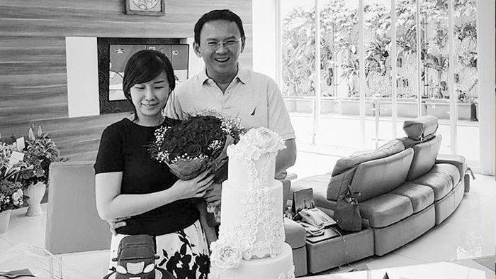 Veronica Tan dan Basuki Tjahaja Purnama atau Ahok