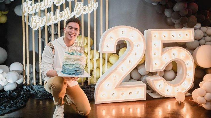 Verrel Bramasta ulang tahun ke-25 tahun.