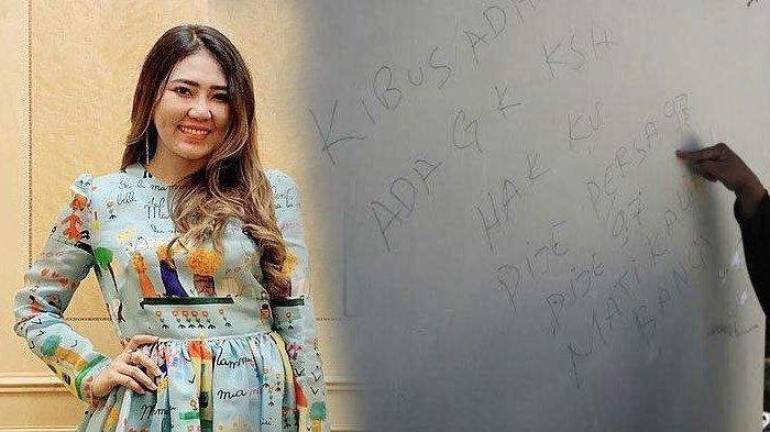 Jadi Misteri di Balik Mobil Via Vallen Dibakar, Ada Tulisan 'Mati Kalian' di Tembok Rumah