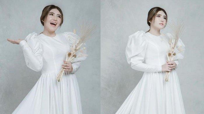 Via Vallen Mendadak Muncul Pakai Gaun Pengantin, Instagramnya Banjir Ucapan Selamat, Dinikahi Siapa?