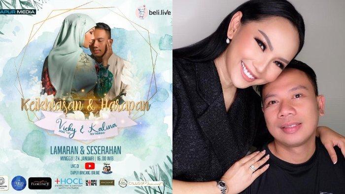 Vicky Prasetyo Siap Pinang Kalina, Lamaran Bakal Live di YouTube: Saatnya Gladiator Gantung Sepatu