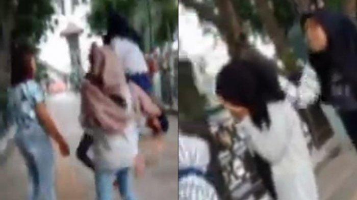 VIRAL Video Remaja Putri di Gresik Dipukuli hingga Ditendang Bergantian, Pelakunya 7 Siswi SMP