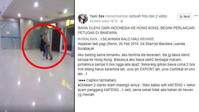 Beredar Video Pertengkaran Petugas dan Penumpang di Bandara Juanda, Begini Tanggapan Badan Karantina