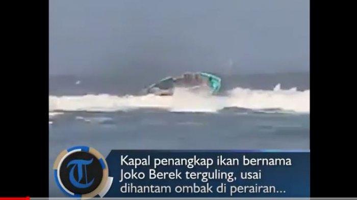 Detik-detik Tenggelamnya Kapal Nelayan di Perairan Pancer Jember, Anomali Pantai Selatan Jawa