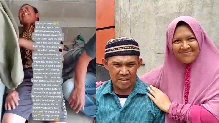VIRAL Tukang Becak Nangis Histeris Uang Bantuan Rp 1,2 Juta Dicuri, Kini Allah Ganti 100 Kali Lipat