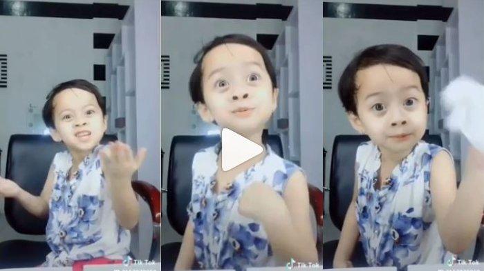 Lawak Abis, Anak Laki-laki Ini Bikin Tik Tok Soal Lebaran dan THR, Netizen : 'Idungnya Santai Aja!'