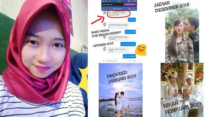 Kenalan 5 Bulan di Facebook, Cewek Cantik Ini Temukan Jodoh & Langsung Nikah, Kisah Cintanya Viral