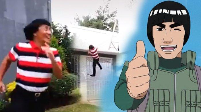Viral Aksi Kak Seto 'Parkour', Warganet Sebut Mirip Guru Rock Lee dalam Serial Anime Naruto