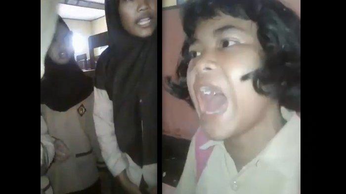 Viral Video Anak SD Dibully Masalah Sepatu Hingga Berontak 'Aku Ditinggal Mama Papa Aku Kamu Nggak!'
