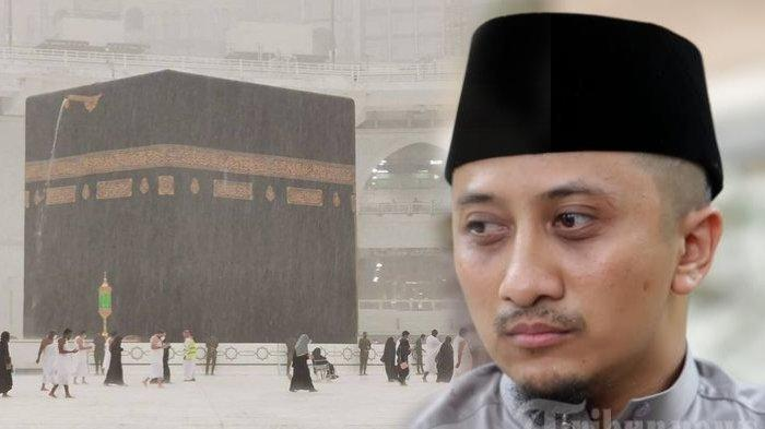 Viral Hujan Es di Masjidil Haram, Ustaz Yusuf Mansur Ajak Berdzikir: 'Tolak Bala Banget'