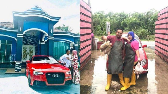 Viral Istri Hadiahi Suami Mobil Mewah Seharga Rp 844 Juta Setelah 8 Tahun Berjualan Ayam