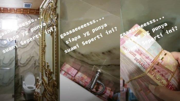 CURIGA Lihat Gelagat Suami, Istri Kaget Lihat Setumpuk Uang di Belakang Closet: Liciknya Suamiku!