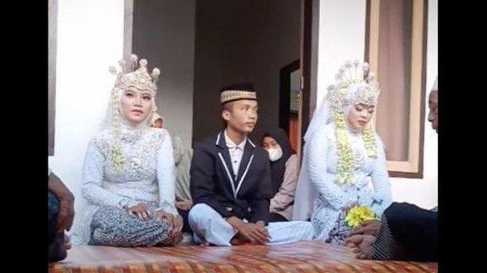 Ini kisah dibalik pernikahan unik antara Korik dan 2 istrinya.