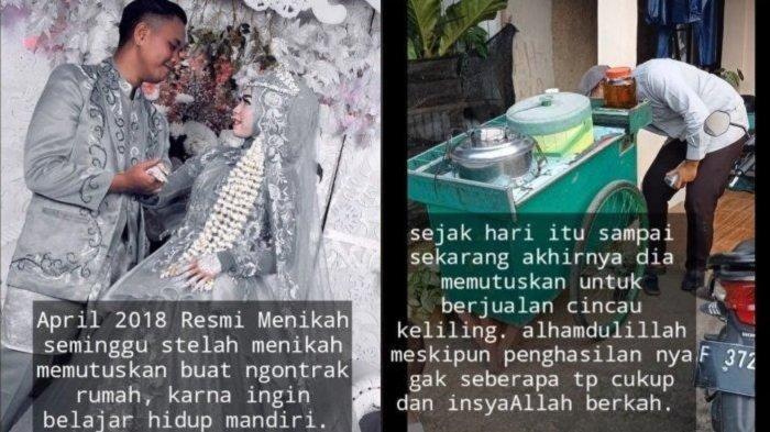 VIRAL Istri Penjual Cincau Bersyukur dengan Penghasilan Suami: Alhamdulillah, Meski Tak Seberapa
