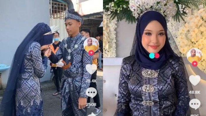 Viral pengantin nikah muda.
