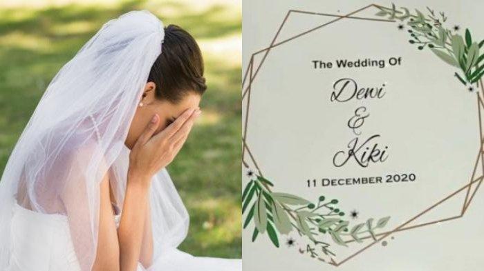 VIRAL Persiapan Sudah 80 Persen, Pernikahan Batal: Jawaban Atas Doa-doaku Dijauhkan dari yang Buruk