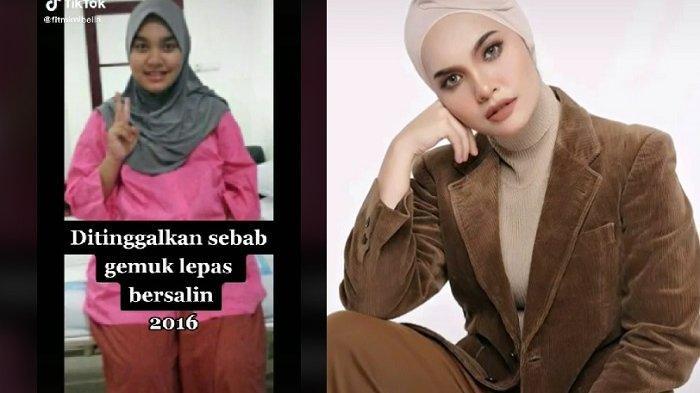 BUAT Suami Nyesal! Istri Rubah Drastis Penampilan Setelah Ditinggal Karena Gemuk Pasca Melahirkan