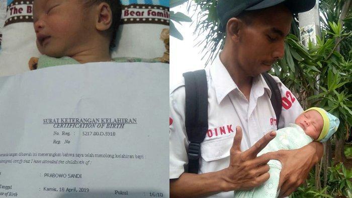 Viral Anaknya Lahir Saat Momen Pemilu, Pria Ini Berikan Nama Prabowo Sandi, Banjir Doa Jadi Pemimpin