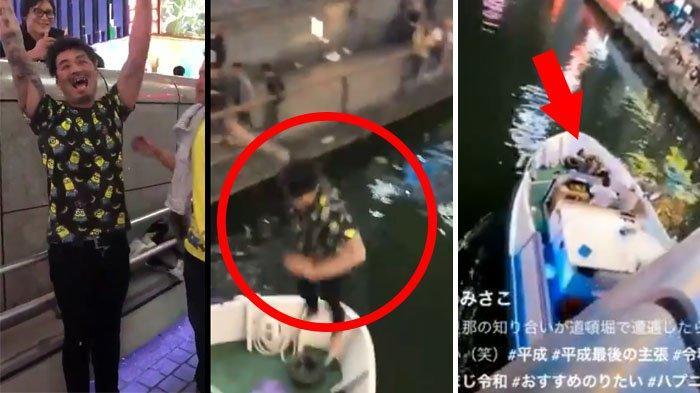 Lompat dari Jembatan dengan Bahagia, Pria di Jepang Ini Terkejut Mendarat di Kapal, Malunya Itu Lho