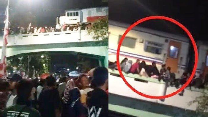 Viral Tragedi 'Surabaya Membara' Ini Kronologi Penonton Tertabrak di Jembatan Kereta Jalan Pahlawan