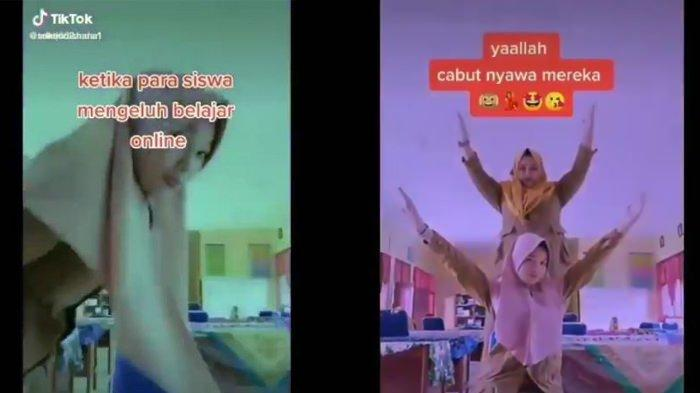 Viral video guru doakan murid meninggal karena ngeluh belajar online