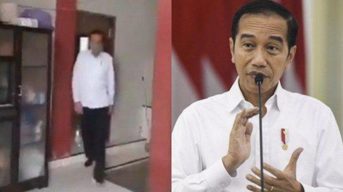 VIRAL Video Jokowi Numpang di Toilet Rumah Seorang Warga, Aksi Ajudan Disorot, Sigap Lakukan Ini