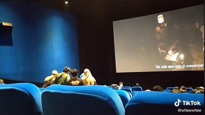 VIRAL Wanita Tiba-tiba Teriak Kesurupan saat Nonton Conjuring 3 di Bioskop, Penonton Lain Ikut Panik