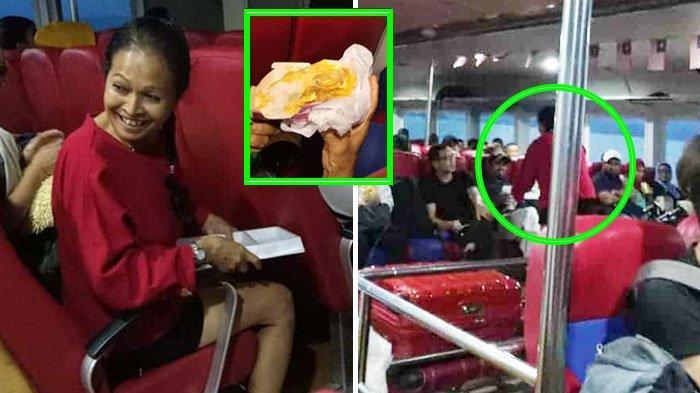 VIRAL Wanita Nonmuslim Bagikan Coklat untuk Buka Puasa Penumpang Kapal Ferry yang Terjebak di Laut