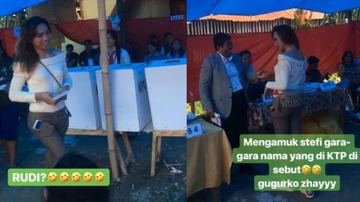 Viral Waria Nyoblos di Pemilu 2019, Ketika Nama Aslinya Disebut TPS Mendadak Heboh, Stefi atau Rudi?