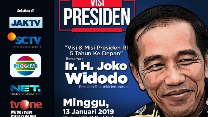 Di Acara Visi Presiden, Raffi Ahmad Awalnya Ragu Pembangunan Infrastruktur, Begini Jokowi Meyakinkan