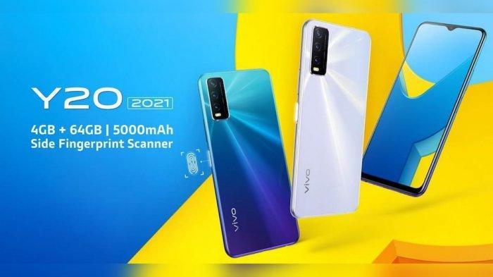TAHUN BARU Vivo Rilis Ponsel Seri 'Entry-level' Y20 (2021), Spesifikasi Lengkap Harga Terjangkau