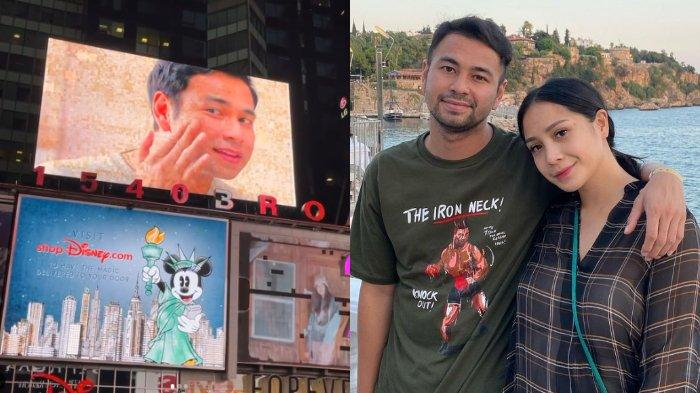 Setelah Babe & Marshel, Giliran Raffi Ahmad-Nagita 'Mejeng' di Times Square New York: Bangga Banget!