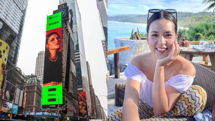 Setelah Nadin Amizah, Giliran Raisa 'Mejeng' di Times Square New York: Tahun Ini Penuh Kejutan