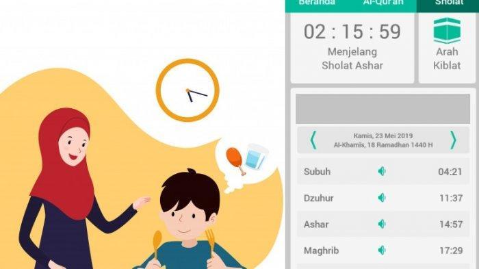 Jadwal Buka Puasa Hari Ini, Kamis 23 Mei 2019 Hari ke-18, Jakarta, Bogor, Depok, Tangerang & Bekasi