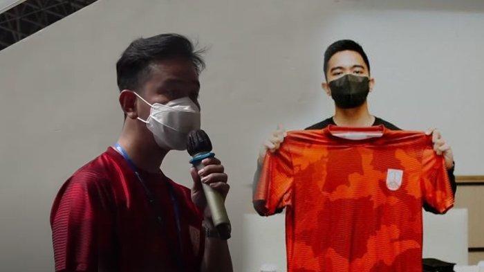 Kaesang Pangarep Jadi Pemilik 40 Persen Saham Persis Solo, Gibran Rakabuming: 'Sesuai Janji Saya'
