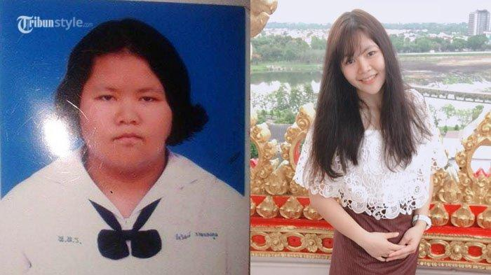 Wanwisa Nanongtoom - Cewek Ini Turun Berat Badan 44 Kg Setahun, Dulu Diejek Kini Dipuji bak Bidadari