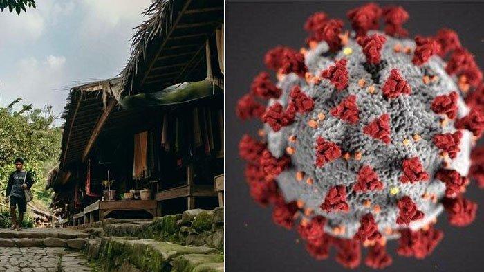 Setahun virus corona mewabah di Indonesia, warga Suku Baduy tak ada yang terkonfirmasi positif Covid-19.