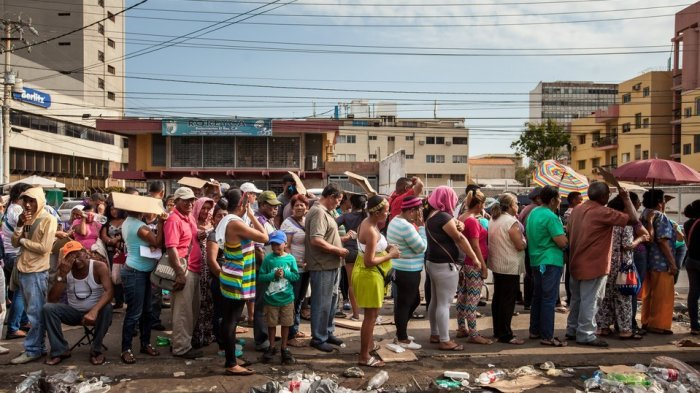 May Day 2019 di Venezuela Menjadi Mengerikan Usai Satu Orang Ditembak Mati