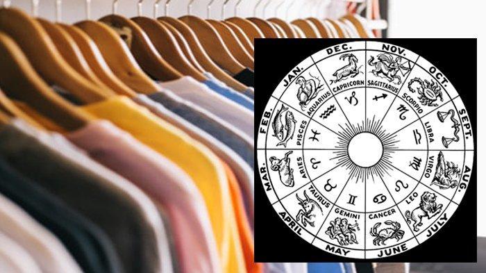 Warna pakaian zodiak.