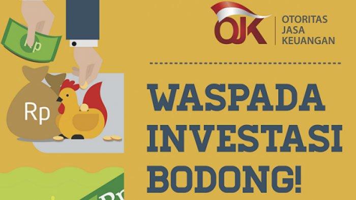 11 Daftar Kegiatan Usaha Penawaran Investasi Bodong, Kini Ditutup Satgas, Hati-hati, Jangan Tertipu!