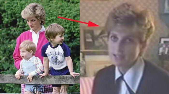 Video Putri Diana Marahi Pangeran Harry di Tengah Wawancara, Ekspresinya Jadi Sorotan, Beda Banget!