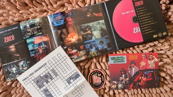 White Shoes & the Couples Company Kembali Rilis Album 2020 dengan Format CD Digipak