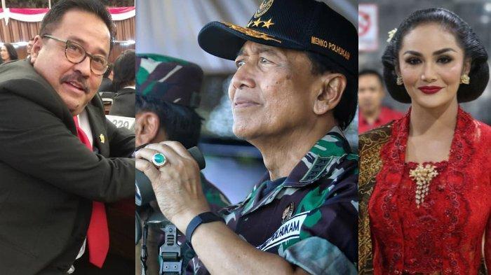 Tanggapan Pesohor Negeri untuk Wiranto, Dari Eks Anang Hermansyah, Krisdayanti Hingga Rano Karno