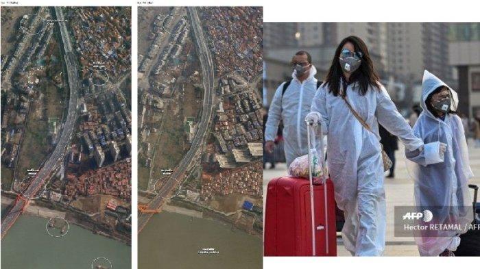 TUDINGAN Amerika Sebut China Banyak Bohong Soal Corona Terbukti, Lihat Foto Satelit, WHO Kecolongan!
