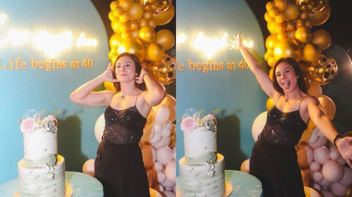 Potret Perayaan Ultah ke-40 Wulan Guritno, Tetap Awet Muda hingga Dapat Ucapan dari Adilla Dimitri