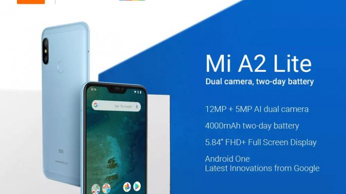 Harga dan Spesifikasi Xiaomi Mi A2 Lite, Ponsel Dua Jutaan yang Tetap Mumpuni