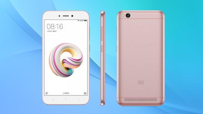 Spesifikasi Lengkap Hp Xiaomi Redmi 5a Ponsel Kualitas 4g Lte Dengan Harga Di Bawah Rp 1 Juta Halaman All Tribunstyle Com