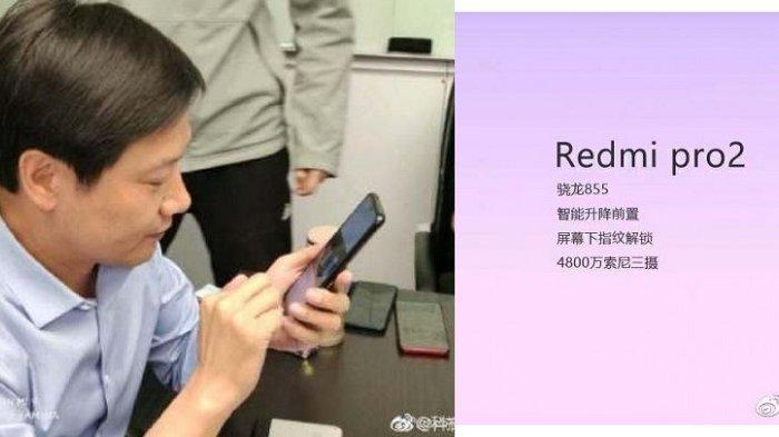 Bocoran Ponsel Xiaomi Redmi Pro 2, Ponsel Dari Xiaomi Redmi Dengan Triple Kamera dan Kamera Pop-up?