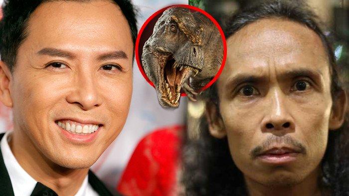 Greget! Mad Dog dan Ip Man Selfie, Netter: T-rex Ngeliat Orang Dua Ini Langsung Sungkem