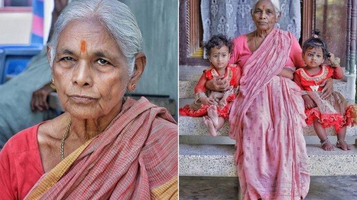 INGAT Nenek yang Lahirkan Bayi Kembar di Usia 73 Tahun? Kini Suami Meninggal, Baru Setahun Jadi Ayah
